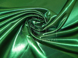 Kelly Green Satin Table Overlays