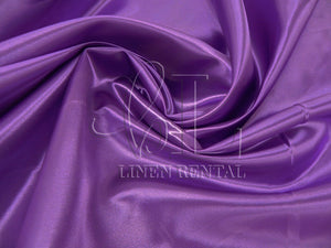 Orchid Satin Table Overlays