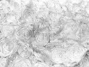 Rosette Satin Table Runners - 29 West Linen