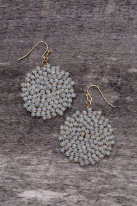 Shades of Grey Earring
