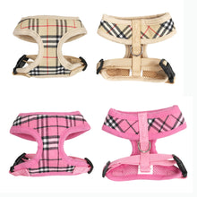 Soft & Breathable Plaid Dog Harness