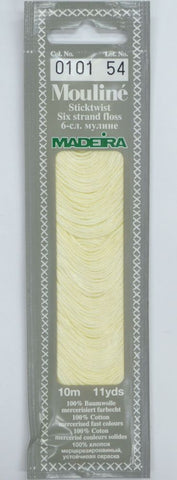 Madeira Mouline 6 stranded embroidery cotton 0101
