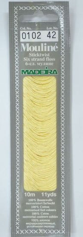 Madeira Mouline 6 stranded embroidery cotton 0102