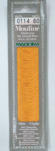 Madeira Mouline 6 stranded embroidery cotton 0114