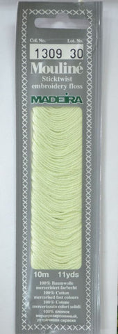 Madeira Mouline 6 stranded embroidery cotton 1309