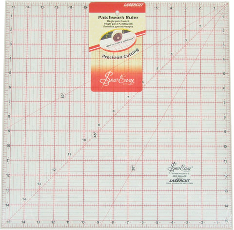 "15 1/2"" square Patchwork Ruler"