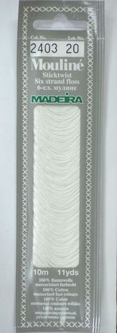 Madeira Mouline 6 stranded embroidery cotton 2403