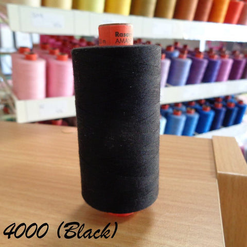 Rasant Thread 1000m  - 4000 Black
