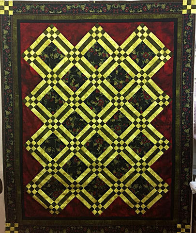 9 Patch Lattice Quilt Pattern