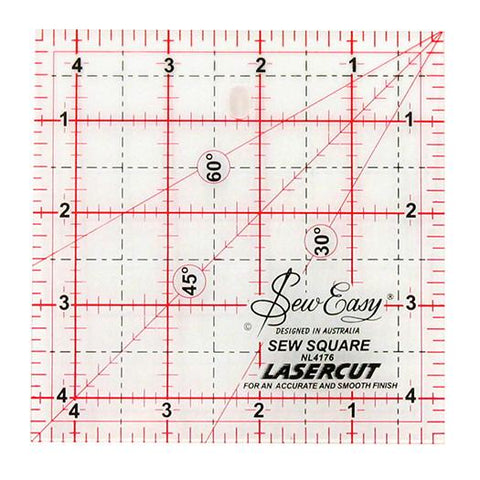 "4 1/2"" square Patchwork Ruler"