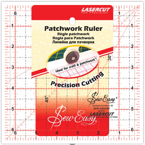 "6 1/2"" square Patchwork Ruler"