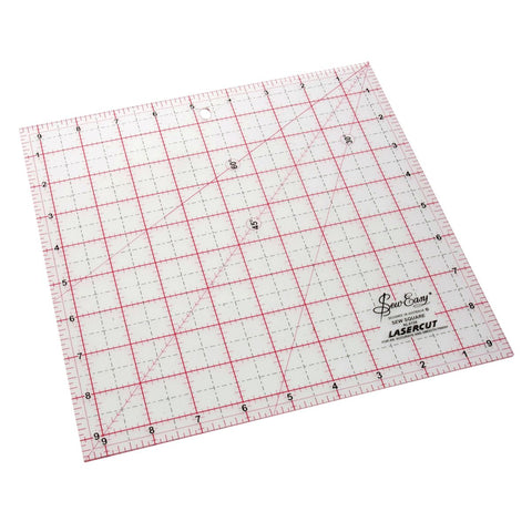 "9 1/2"" square Patchwork Ruler"