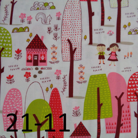 Moda Just Another Walk in the Woods Fabric range