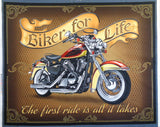 Biker For Life Fabric range