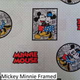Mickey and Friends Fabric Range