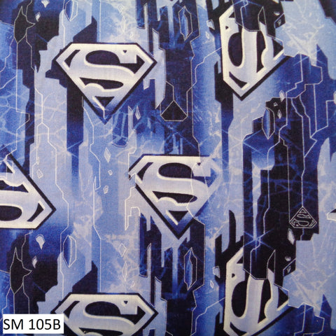 Superman Fabric Range