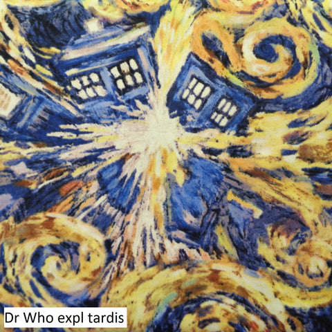 Dr Who Fabric Range