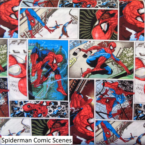 Spiderman Fabric Range