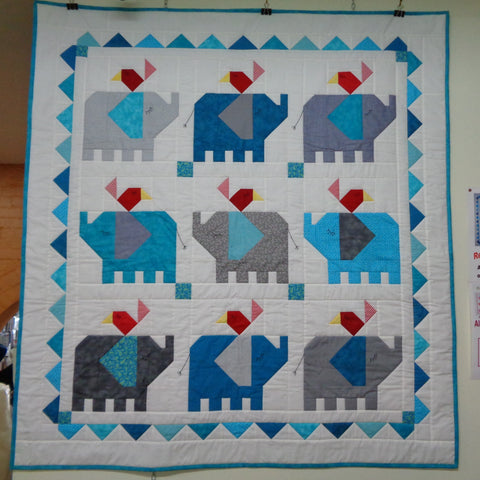 Little Elephant Quilt