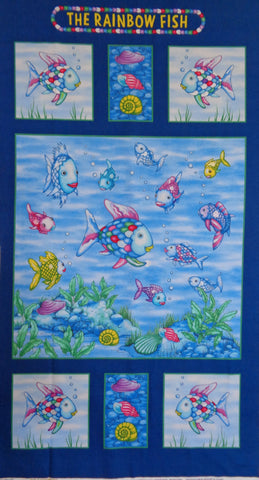 The Rainbow Fish Fabric Range