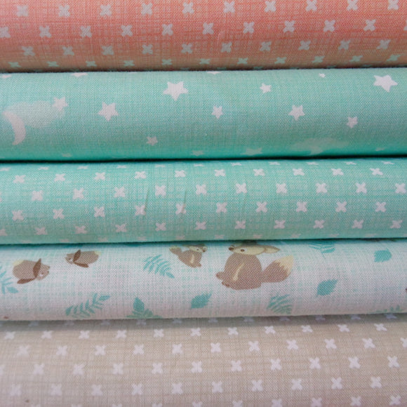 Moda Lullaby Fabric Range