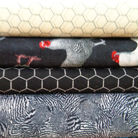 Rooster Royale Fabric Range