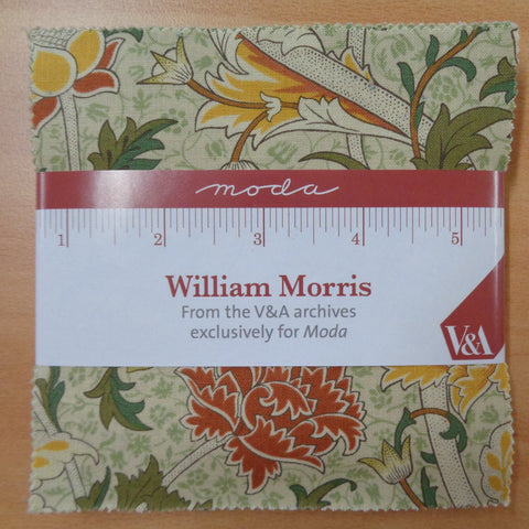 Moda William Morris Charm Squares