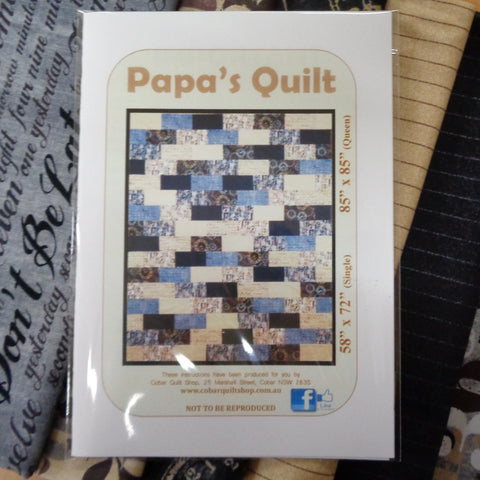 Papa's Quilt