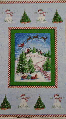 Winter Wonderland Christmas panel