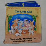 The Little King Christmas Book panel