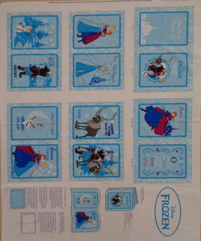 Frozen Book panel
