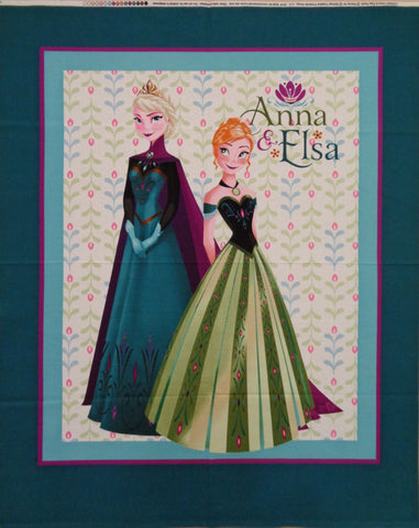 Anna and Elsa Frozen Panel