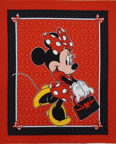 Minnie Mouse Panel