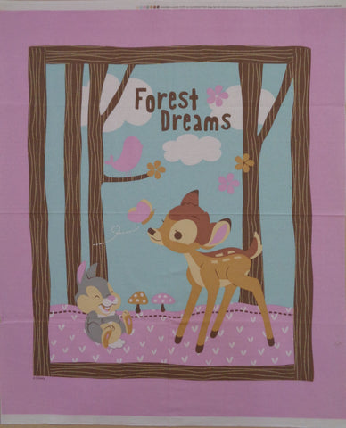 Bambi Forest Dreams Panel