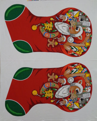 Hoppy's Christmas Stocking Panel Large