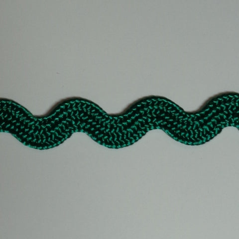 Ric Rac 5mm Green WS1