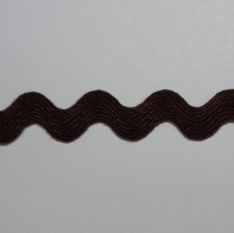 Ric Rac 10mm Brown WS18