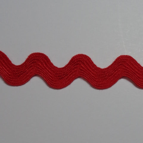 Ric Rac 10mm Red WS46