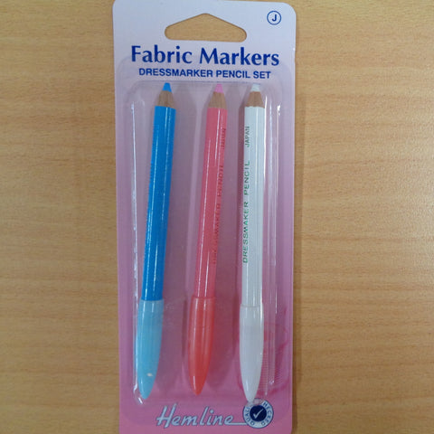 Fabric Marking Pencils 3pk