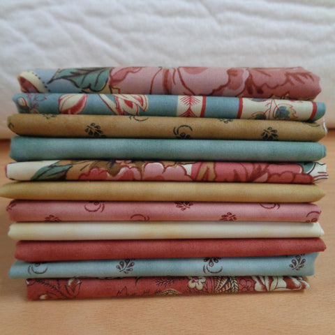 11 Nurture Fat Quarters
