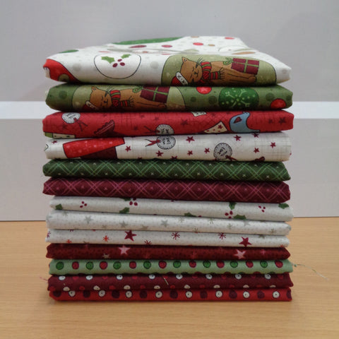13 Festive Fun Fat Quarters