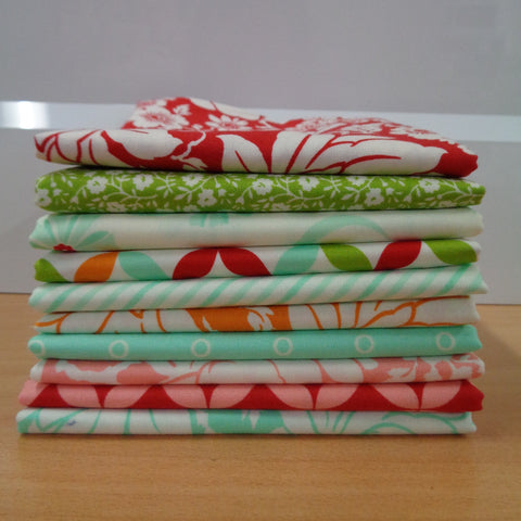 10 Hello Darling Fat Quarters