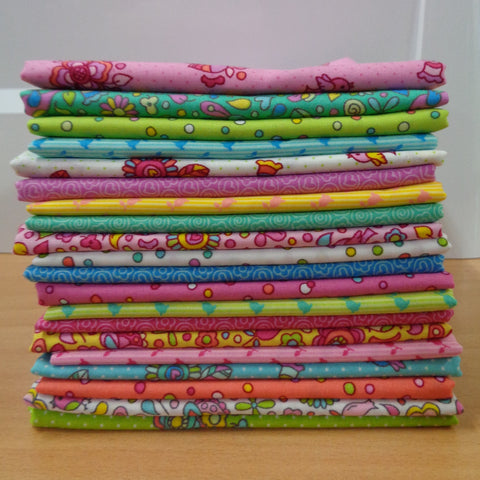 20 Frolic Fat Quarters