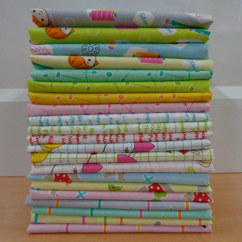 21 Sewing School Fat Quarters