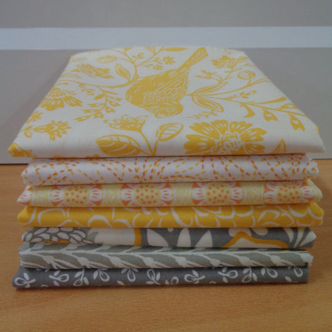 7 Chirp Fat Quarters