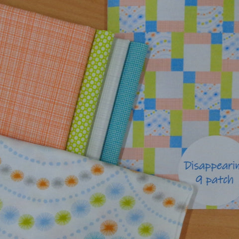 Disappearing 9 Patch Quilt Kit