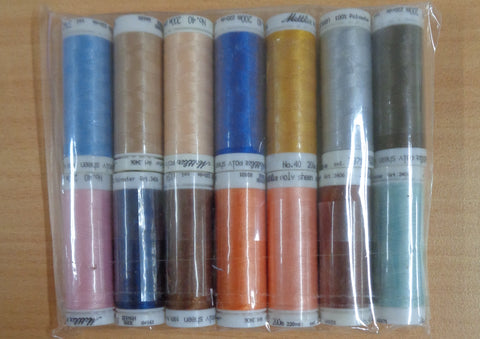 Mettler PolySheen Embroidery thread pack 3