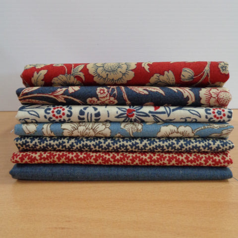 7 Vive La France Fat Quarters