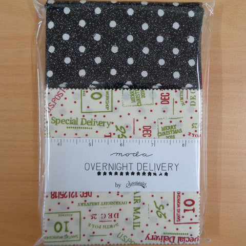 Overnight Delivery Charm Squares plus .5m