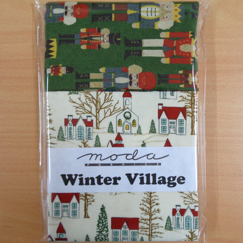 Winter Village Charm Squares plus .5m